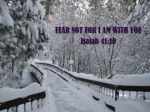 FEAR NOT PIC